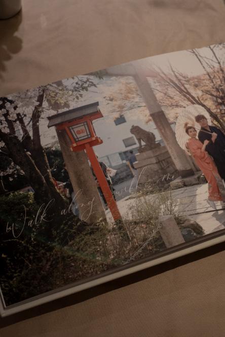 zoey_婚禮相簿-西洋書法