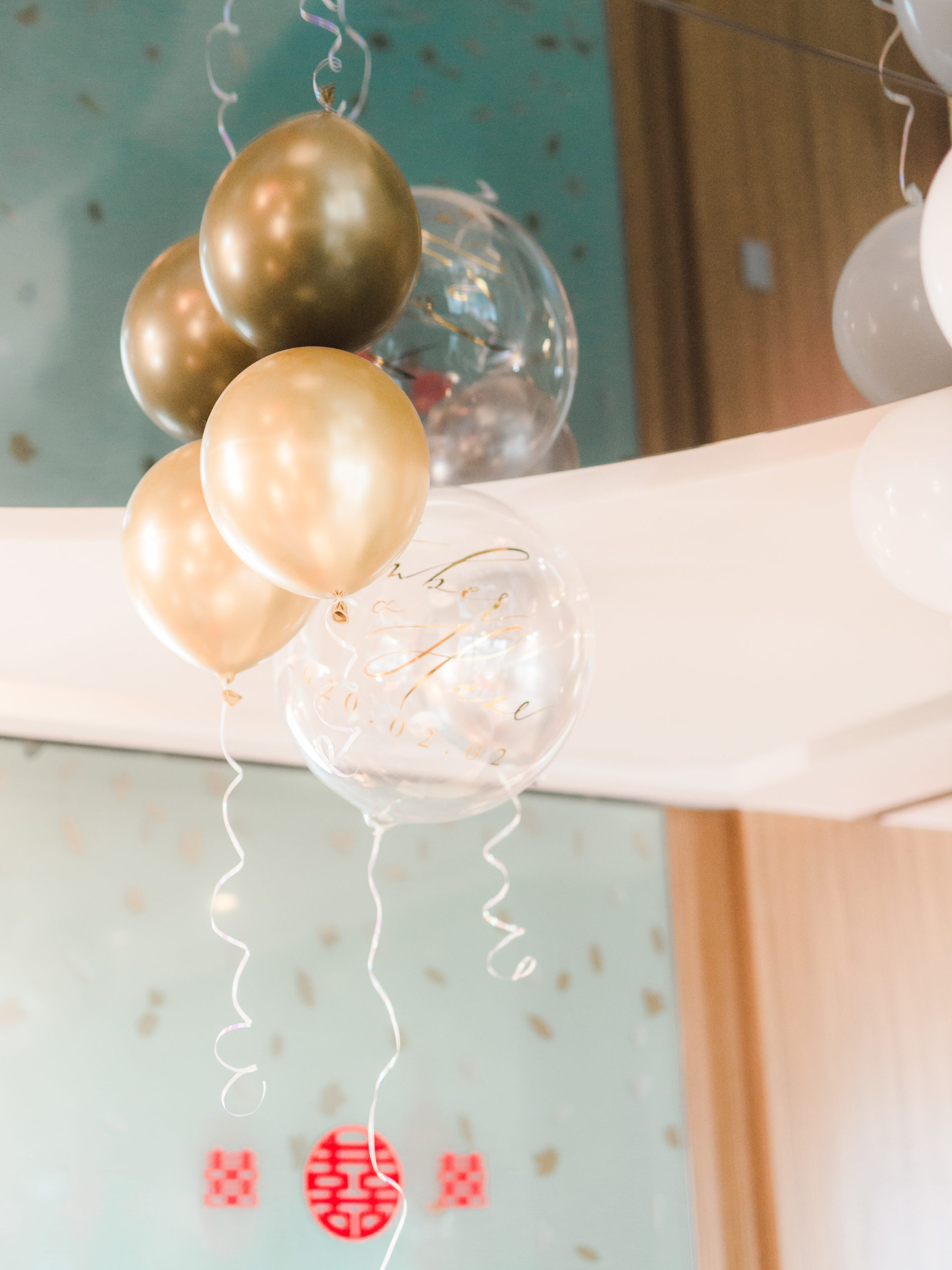old-and-transparent-wedding-calligraphy-balloons