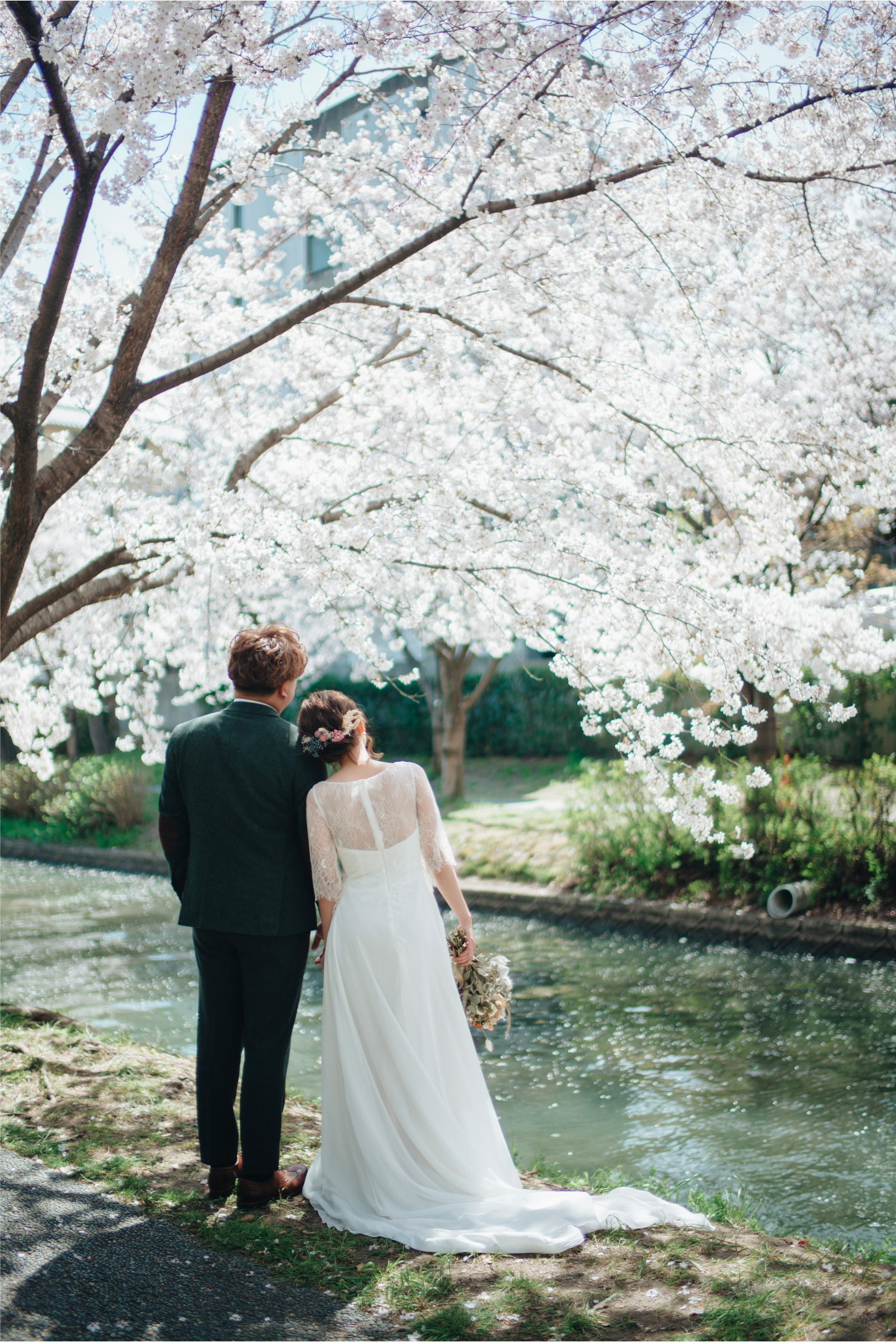 wedding couple in japan